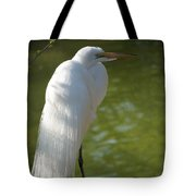 White Beauty Of The Marsh Tote Bag
