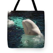 White Beluga Whale 1 Tote Bag