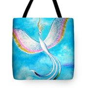 White Bird From Kingdom Of Immortals Tote Bag