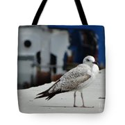 White Bird Port Burgas Tote Bag