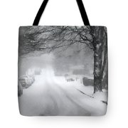 White Blanket Tote Bag