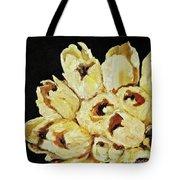 White Bouquet Tote Bag