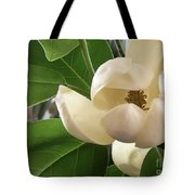 White Bouquet Tote Bag