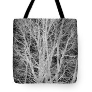 White Branches Tote Bag