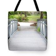 White Bridge Tote Bag
