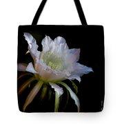 White Cactus Glory  Tote Bag