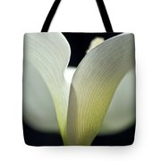 White Calla Lily Tote Bag