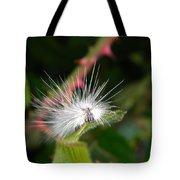 White Caterpillar  Tote Bag
