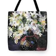 White Celebration Tote Bag