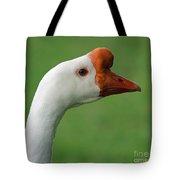 White Chinese Goose Tote Bag