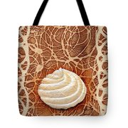 White Chocolate Swirl Tote Bag