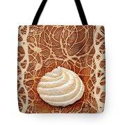 White Chocolate Swirl Tote Bag