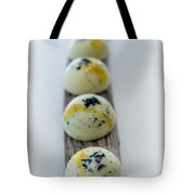 White Chocolate With Black Sesame Tote Bag