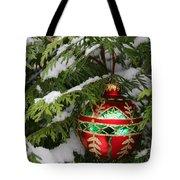 White Christmas II Tote Bag
