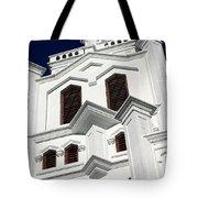 White Church Tote Bag