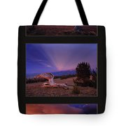 White Clouds Triptych Tote Bag
