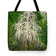 White Confetti Palm Tote Bag