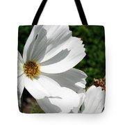 White Cosmos Tote Bag
