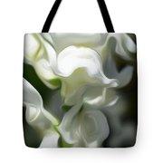 White Creamy Peaceful Tote Bag
