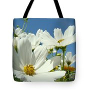 White Daisy Flowers Fine Art Photography Daisies Baslee Troutman Tote Bag