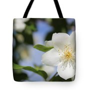 White Dogwood Tote Bag