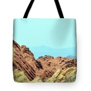 White Domes Beauty Tote Bag