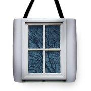 White Door Detail Tote Bag