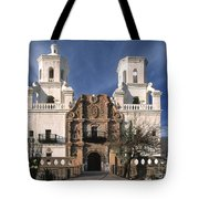 White Dove Of The Desert Tote Bag