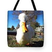 White Duck  Tote Bag