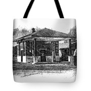 White Eagle Gas Station Tote Bag