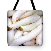 White Eggplants Tote Bag