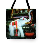 White Elephant. Meaning A Big Expensive Tote Bag