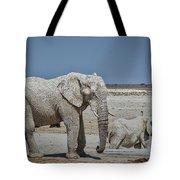 White Elephants Tote Bag