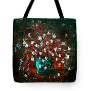 White Flowers 4 Tote Bag