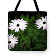 White Flowers In The Garden Tote Bag