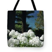White Flowers W16 Tote Bag