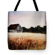 White For Harvest Tote Bag