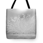 White Frost Tote Bag