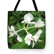 White Ginger Tote Bag