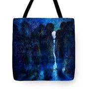 White Girl Tote Bag