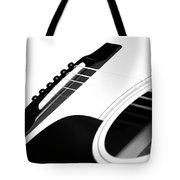 White Guitar 10 Tote Bag