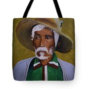 White Haired Man - 2d Tote Bag