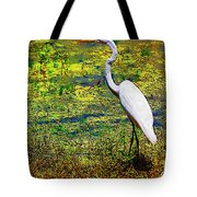 White Heron 1 Tote Bag