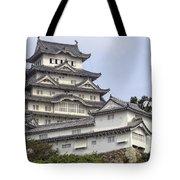 White Heron Castle - Himeji City Japan Tote Bag