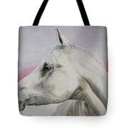 White Horse- Arabian Tote Bag