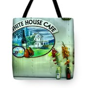 White House Cafe Tote Bag