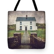 White House Of Aran Island I Tote Bag