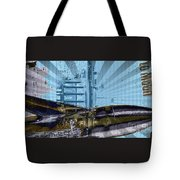White House To The Moon Tote Bag