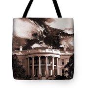 White House Washington Dc Tote Bag