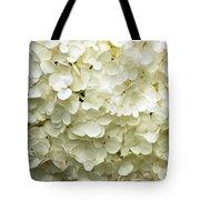 White Hydrangea Tote Bag